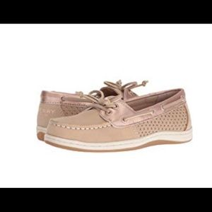 Sperry Kids Firefish Silver Cloud/Rose Gold